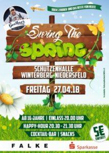 Swing the Spring Party @ Schützenhalle Winterberg-Niedersfeld
